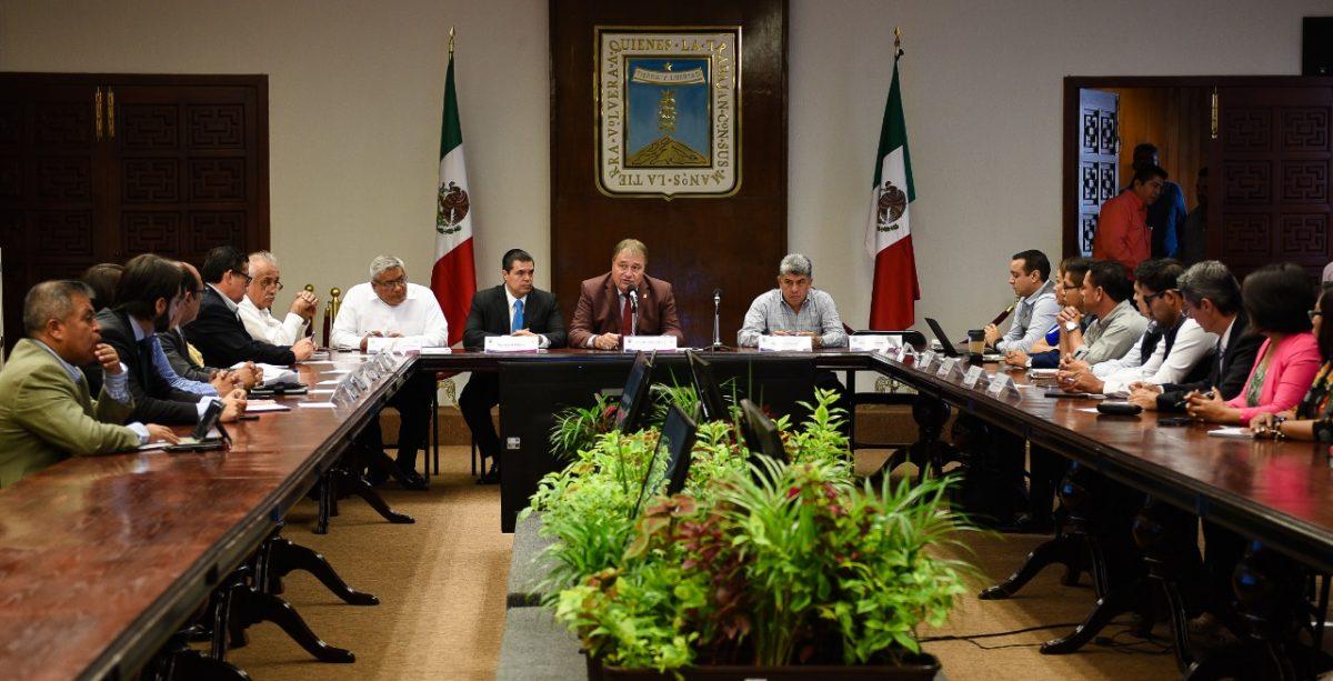 Primera reunió del grupo de coordinación del gobierno de Morelos