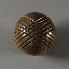 Walnut with grooves