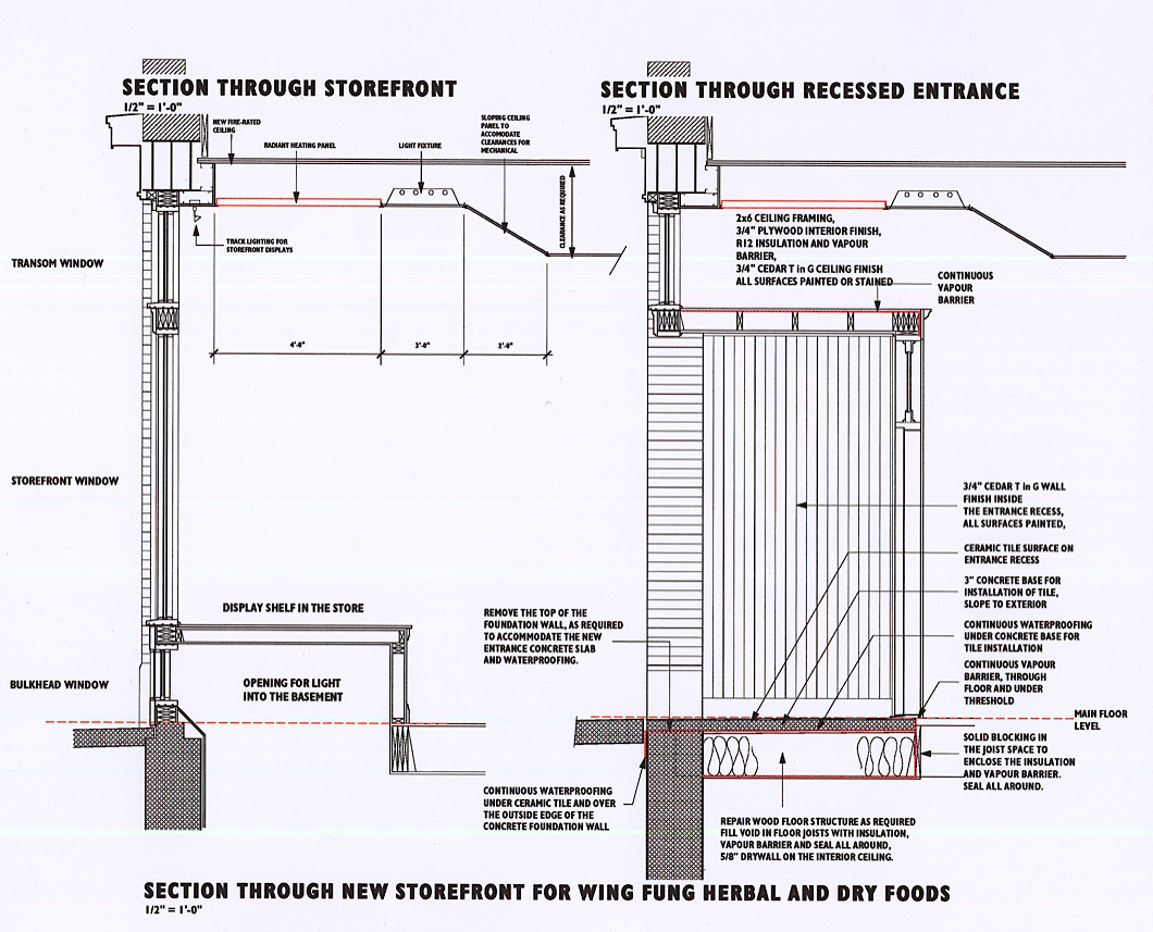 Hull Storefront Details