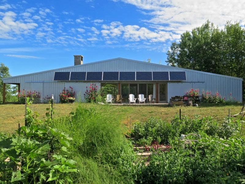 Pembina House in Summer