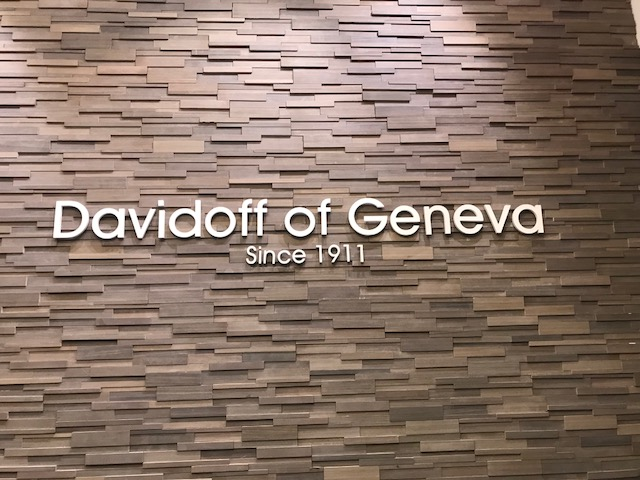 Davidoff of Geneva Brooklyn Storefront Sign