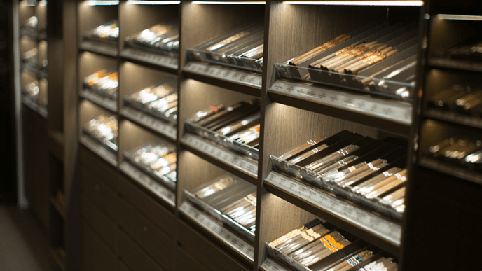 Brooklyn Davidoff Cigar Selection