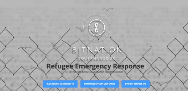 Bitnation Emergency Response
