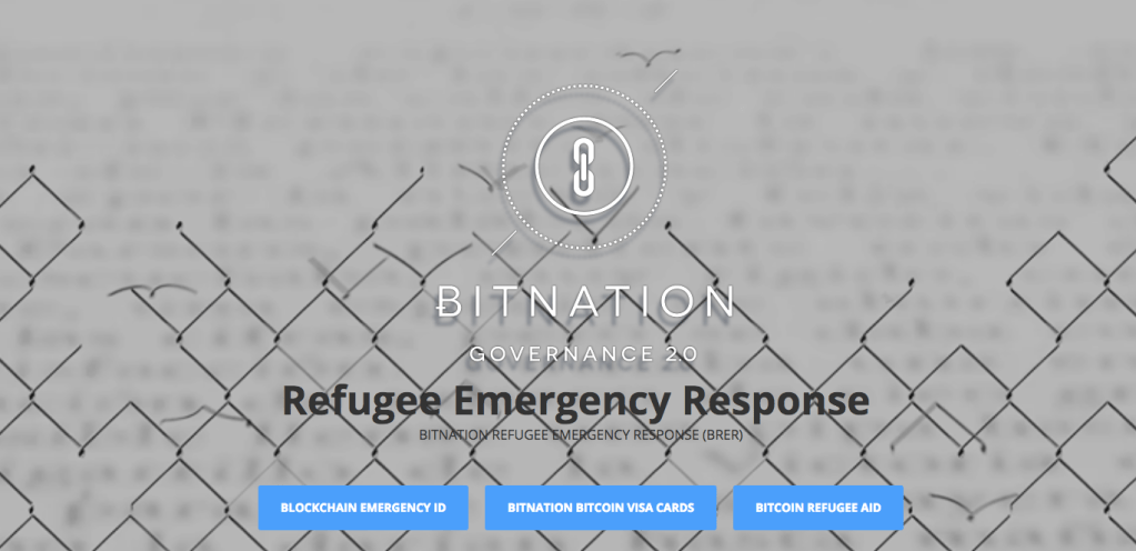 Hi-tech emergency help to refugees