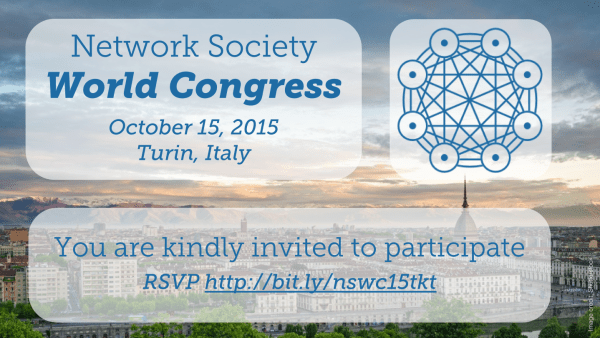 Network Society World Congress Invite Graphic