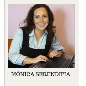 Mónica serendipia escritor seudónimo