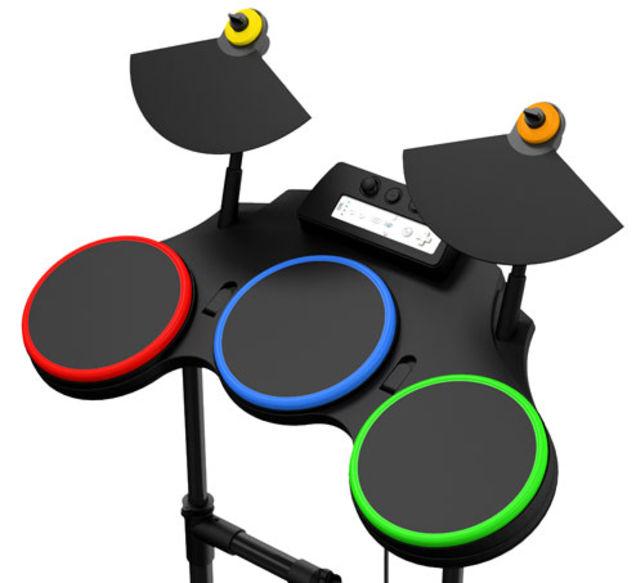 XBox360 Drum Kit to Resolume