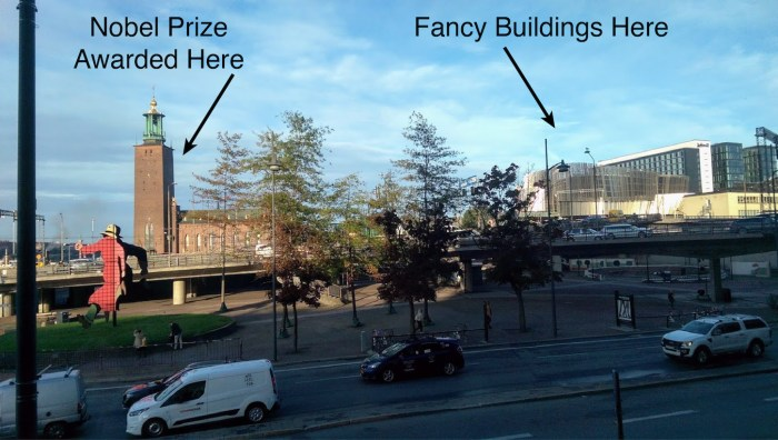 where Nobel Prizes are handed out