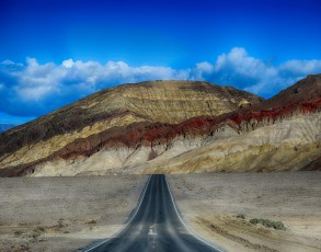 Bad water Road, Death Valley, CA