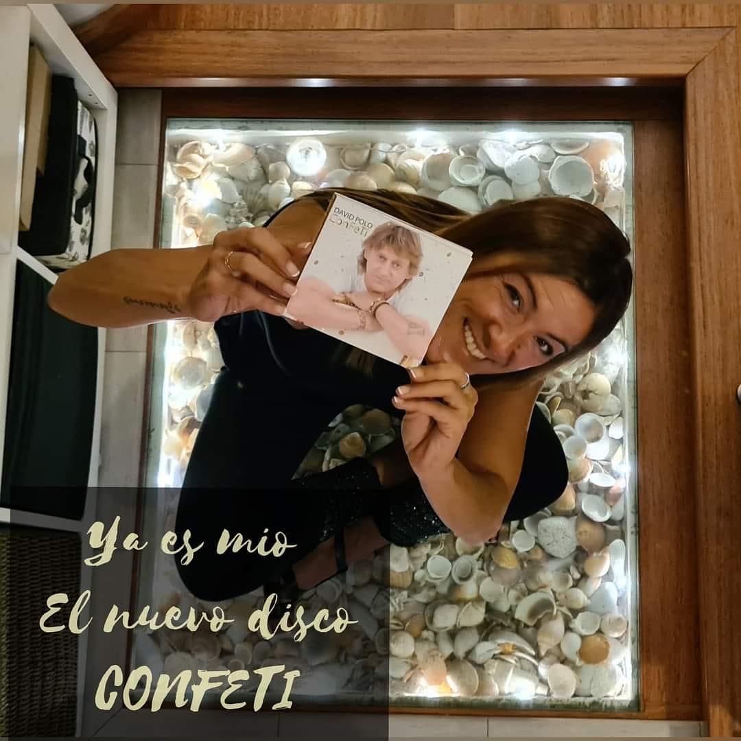 Confeti con Beatriz Ballesteros