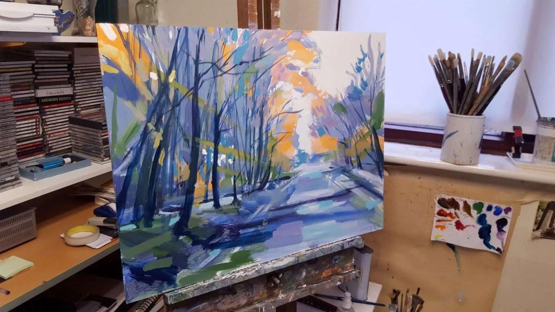 Winter twilight detail 01