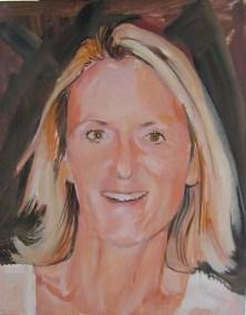 Single portrait painting commission