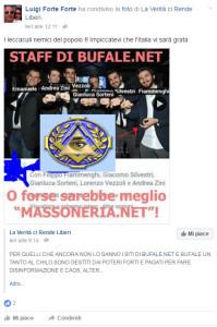 """Luigi: """"I leccaculi nemici del popolo !! Impiccatevi che l'Italia vi sarà grata"""""""