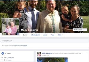 L'account Facebook di Molly