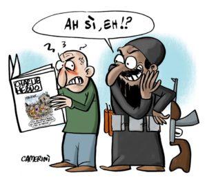 La vignetta di Andrea Camerini