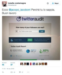 luisella-costamagna-twitteraudit-iacoboni-fake