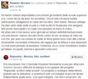 Roberto Saviano Diario