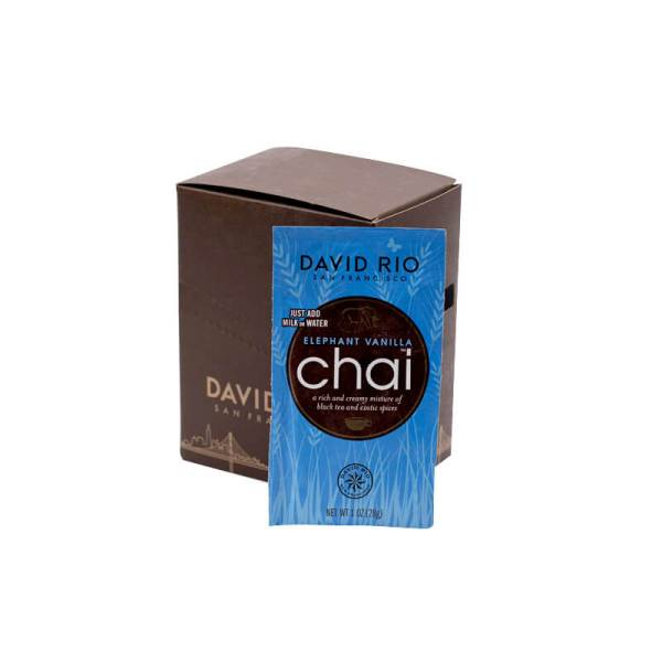 Elephant Vanilla Chai David Rio