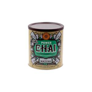 Power Chai Matcha Vegano Sin Lacteos David Rio