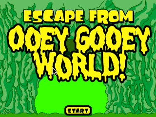 Escape From Ooey Gooey