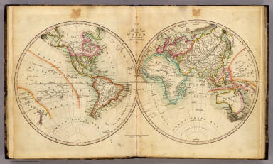 Map of the World    Melish  John   1820