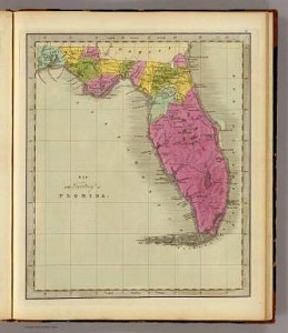 Map of the Territory of Florida    Greenleaf  Jeremiah   1840