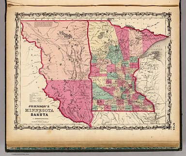 Minnesota And Dakota    Johnson  A J    1860