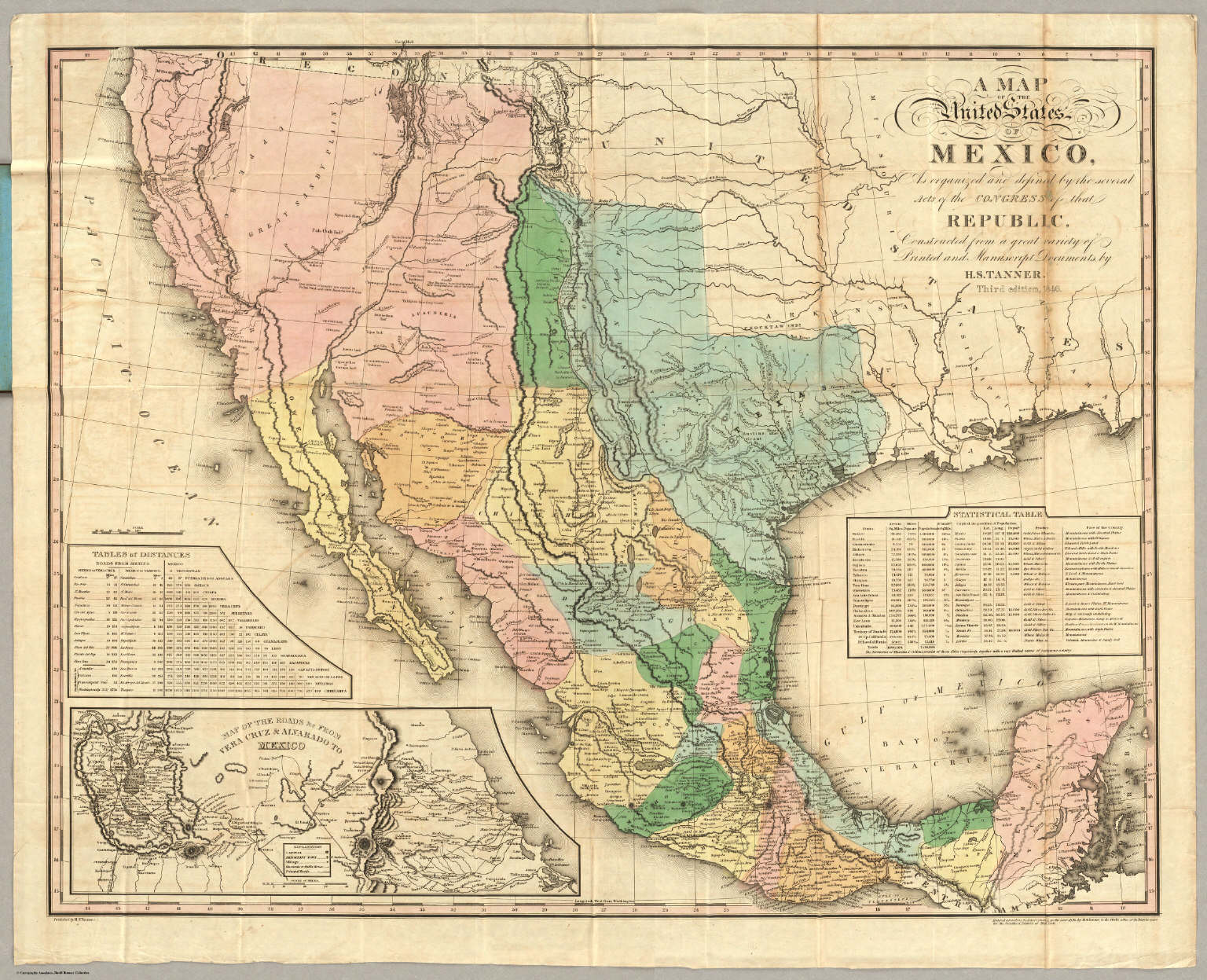 Mexico Map Before
