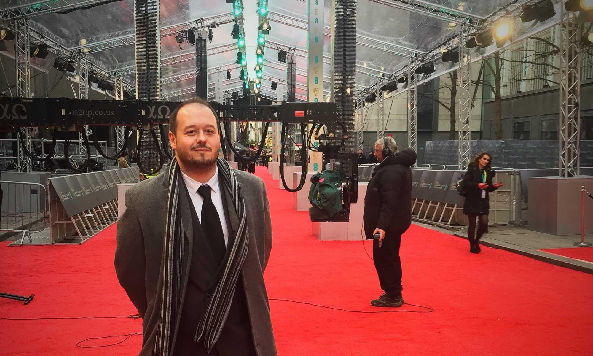 cropped BAFTA Red Carpet