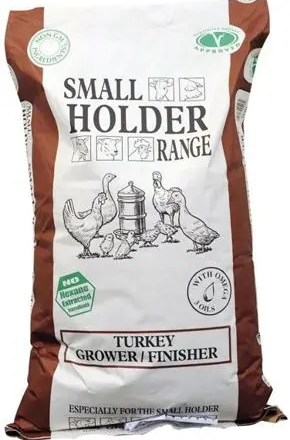 ALLEN & PAGE TURKEY GROWER FINISHER PELLETS 20KG-0