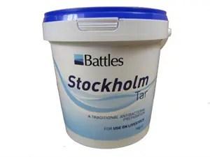 BATTLES STOCKHOLM TAR 1KG-0