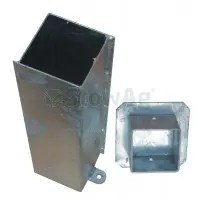 "4""x4"" POST SOCKET & CAP ( 100mm x 100mm )-0"