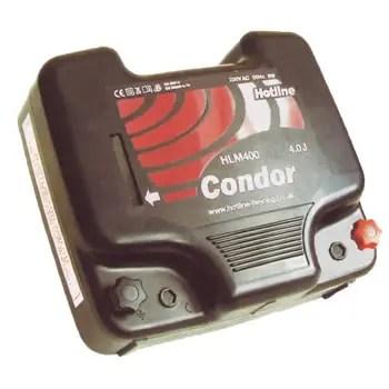 HOTLINE CONDOR MAINS ENERGISER 4J-0