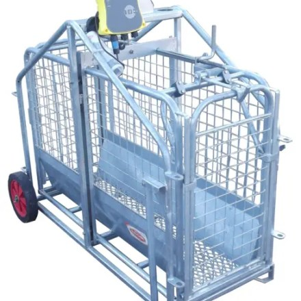 RITCHIE ELECTRONIC 664 LAMB WEIGHER C/W TRUTEST EAZIWEIGH 7i READER -0