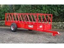 PORTEQUIP CATTLE FEED TRAILER 14' x 6' ( FT143 )-0