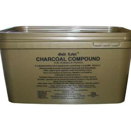 GOLD LABEL CHARCOAL COMPOUND 1KG-0