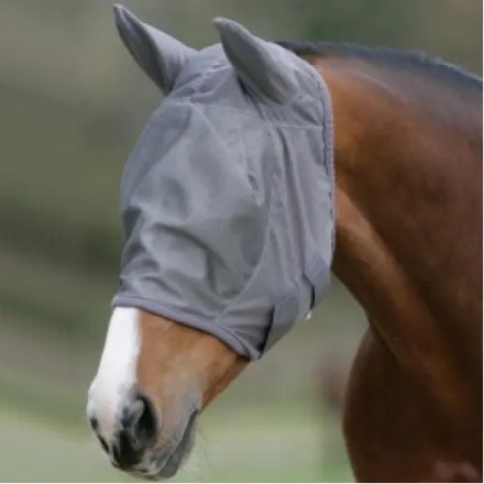 MARK TODD FLY MASK WITH EARS SMALL-0