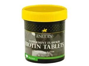 LINCOLN BIOTIN TABLETS 60-0