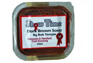 SHOWTIME BOB TEMPLES DARK BROWN LIMOUSIN & HEREFORD SOAP 250ML-0
