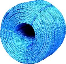 BLUE POLYPROP ROPE 220M-0
