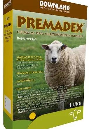 PREMADEX SHEEP DRENCH 5L-0
