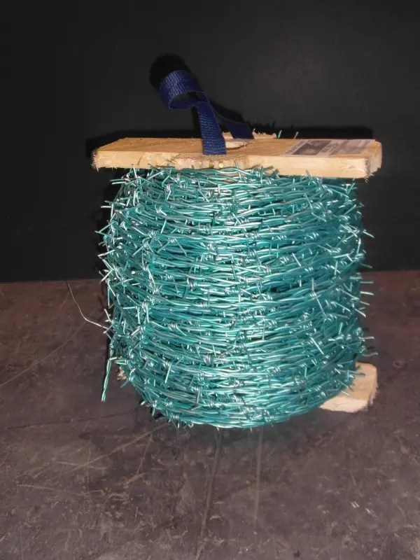 HT SENTINEL GREEN BARB WIRE 200M-0
