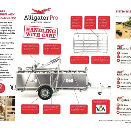 ALLIGATOR PRO 750 HANDLING SYSTEM ( ELECTRIC WINCH )-0