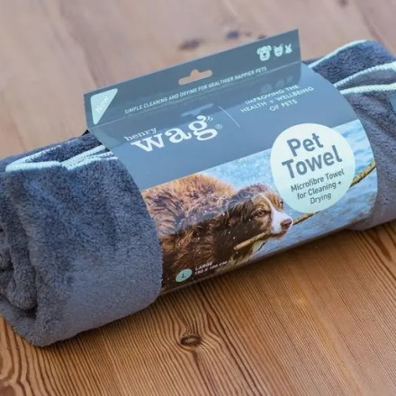 HENRY WAG PET TOWEL LARGE-0