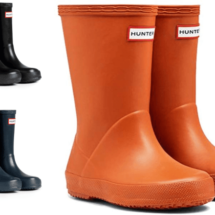 HUNTER KIDS FIRST WELLINGTON BOOTS-0