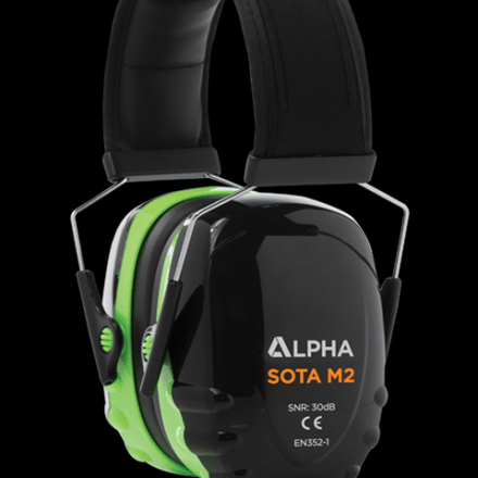 ALPHA SOLOWAY MEDIUM ATTENUATION EAR DEFENDERS-0