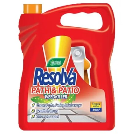 RESOLVA PATH & PATIO WEEDKILLER 5L-0