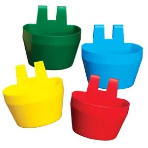 CAGE CUPS PLASTIC YELLOW-0