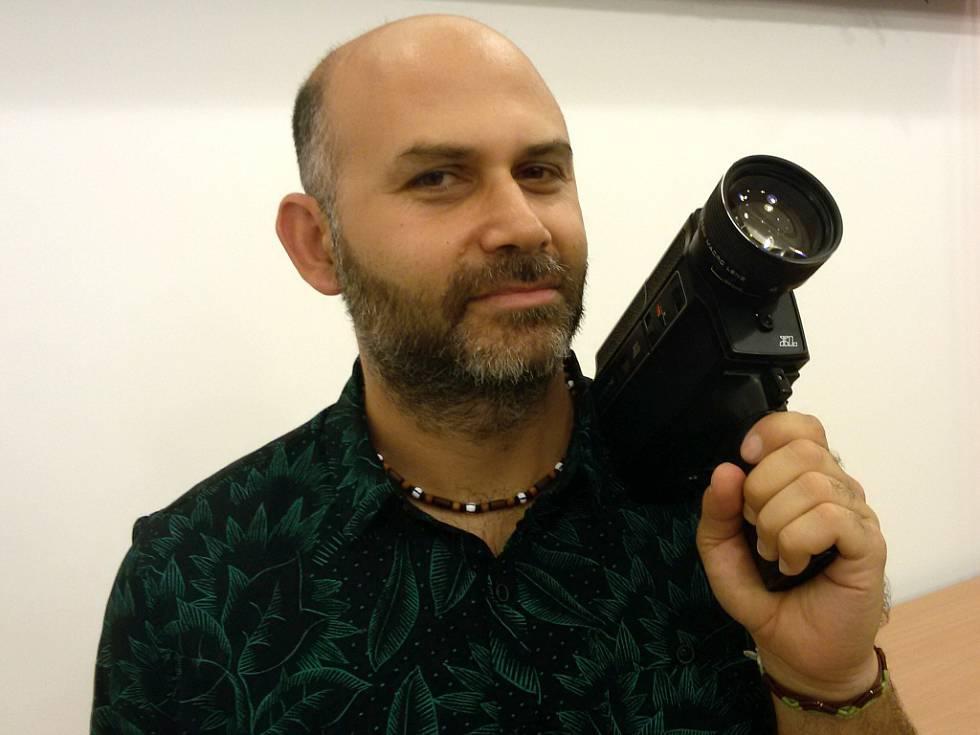 David Surý s kamerou foto Janni Vorlíček