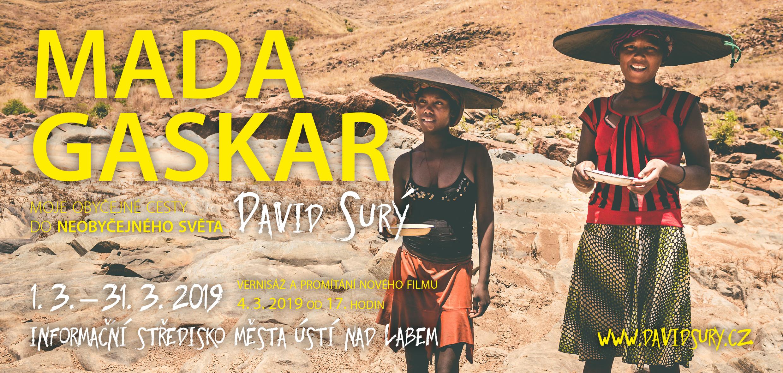Madagaskar výstava Ústí nad Labem David Surý